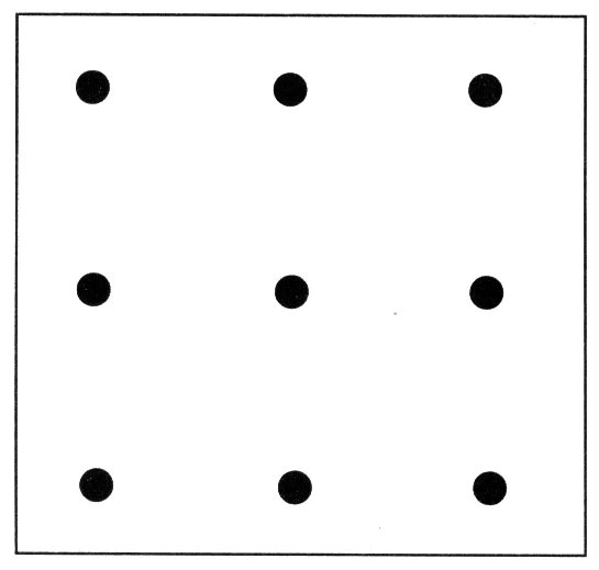 Image result for Nine Dots Puzzle josephkravis.com