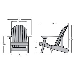 2 X 4 Adirondack Chair Plans Chairs Set Of Highwood Hamilton Folding And Reclining