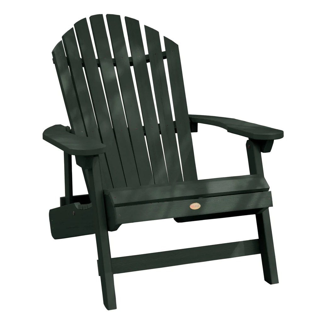 highwood adirondack chair outdoor and ottoman replacement cushions king hamilton folding reclining