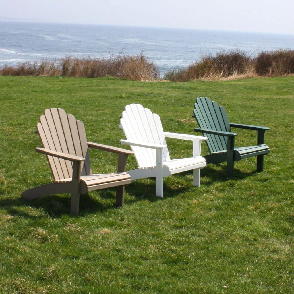 Malibu Outdoor Living Hampton Adirondack Chair - White