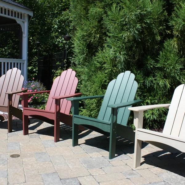 Malibu Outdoor Living Yarmouth Adirondack Chair  Cherry