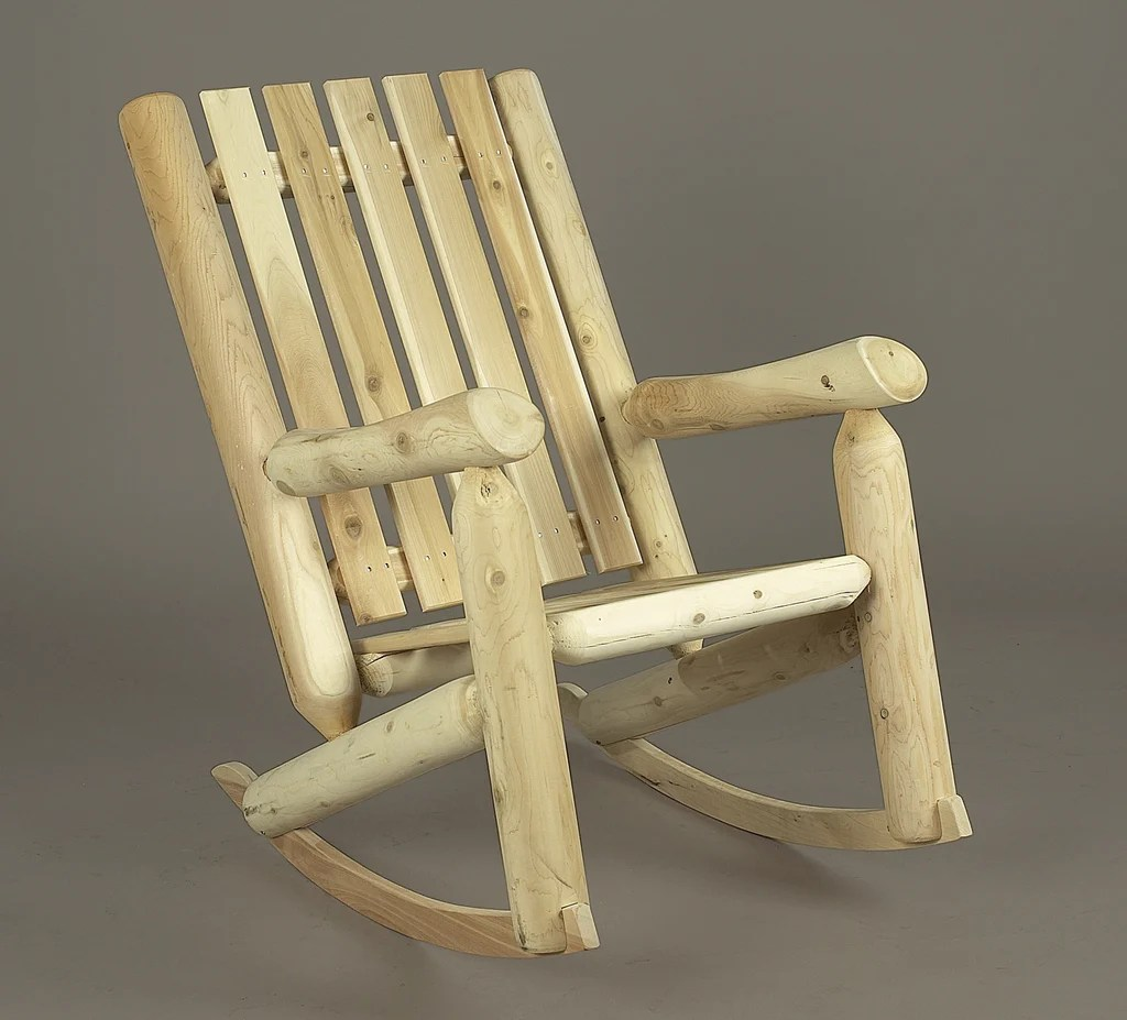 cedar adirondack chairs plans office chair from car seat rustic natural high back rocker