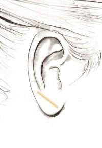 Straight Bar Earring  SMITH + MARA