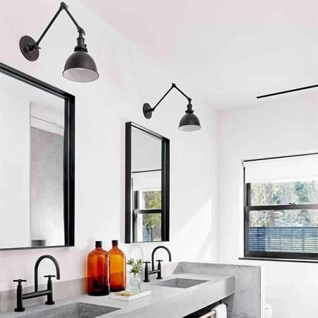 vintage industrial interior design and