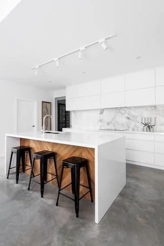 white kitchen bench cheap backsplash ideas inspiration for lighting a island fat shack vintage