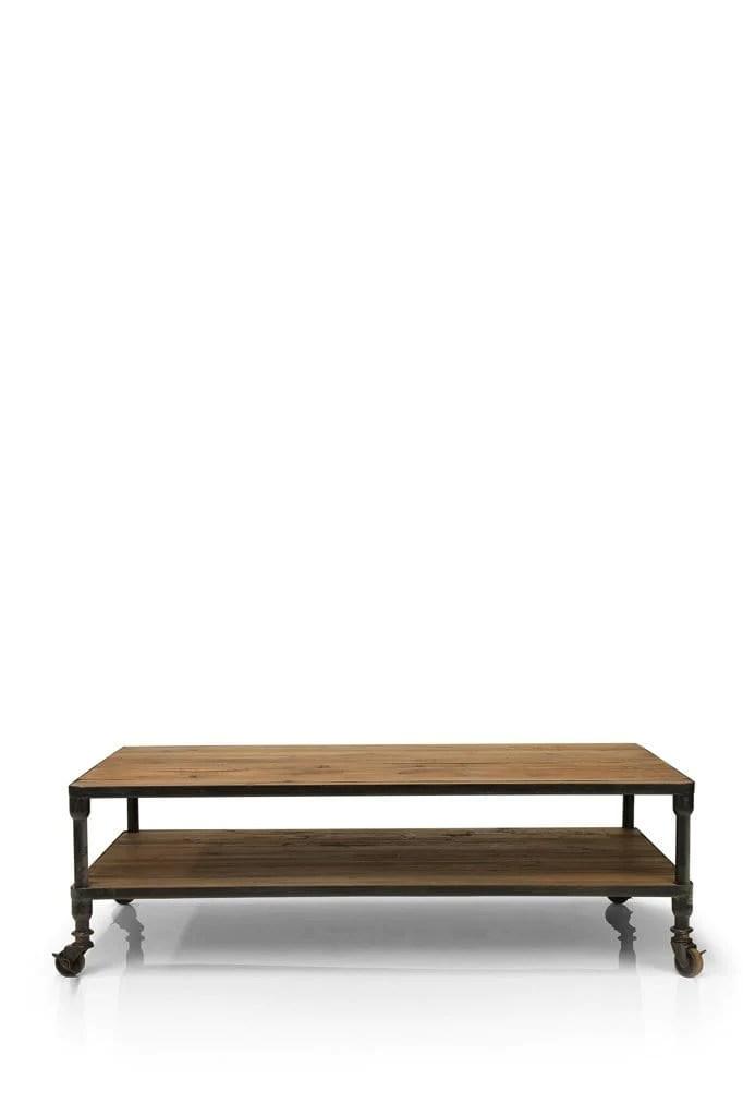 caldwell wood coffee table