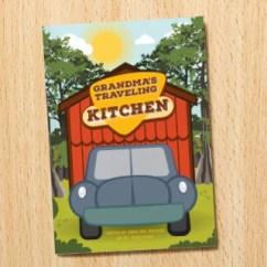 Traveling Kitchen Ninja Mega System 1500 Recipes Grandma S Children Book Basin Trading Company