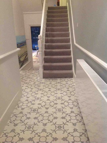 Contemporary Grand Designs using Encaustic Tiles Reclaimed Tiles Spanish Tiles for architects