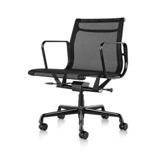 Eames Aluminum Chair Cane Dining Room Chairs Group Management
