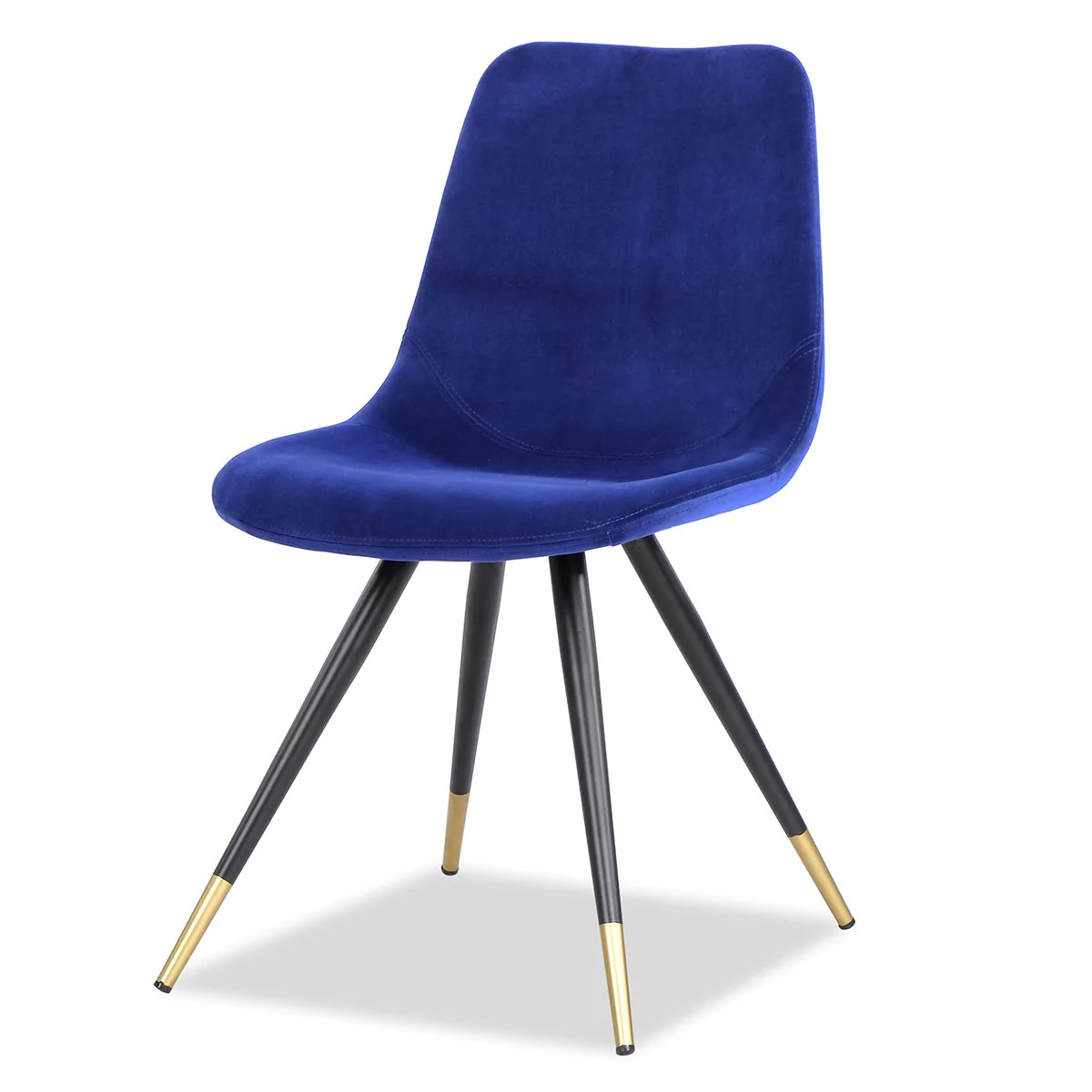 Blue Dining Chairs Liang Eimil Orson Kaster Blue Dining Chair Pair