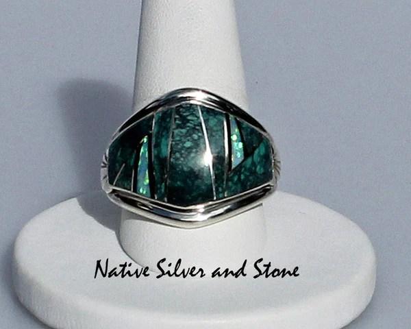 James Lee  NavajoNative American Jewelry  RingMulti