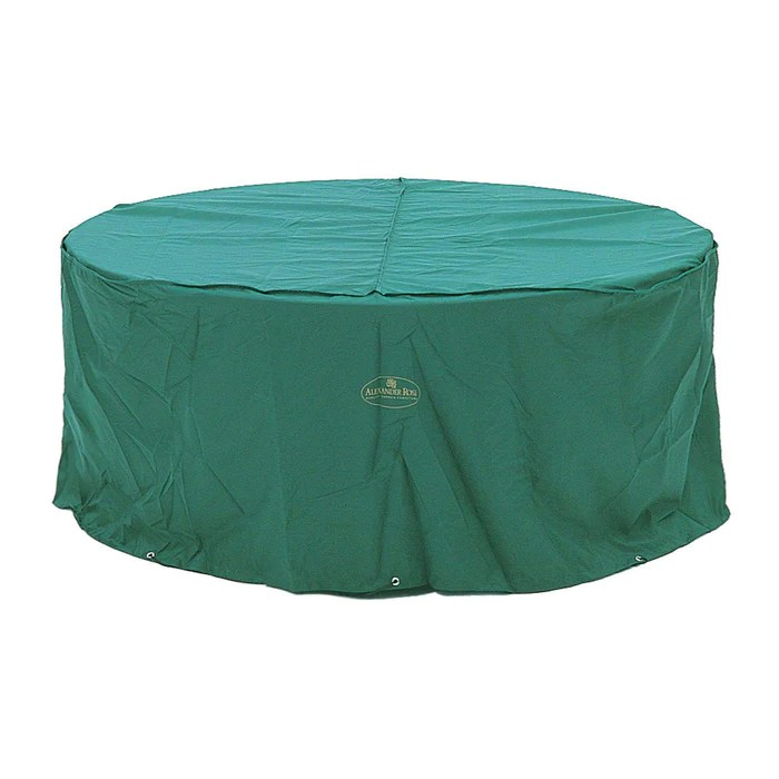 alexander rose round and oval furniture cover dark green various sizes