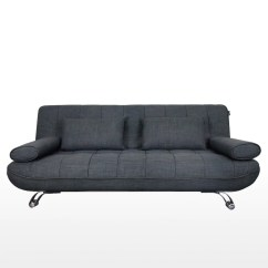 Sofa Bed For Sale Singapore Leather Color Restoration Home And Style Clifford 3 Seater Grey Hipvan