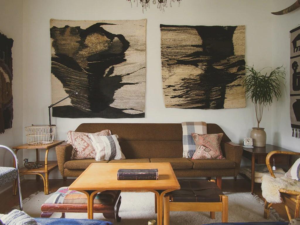 light brown tweed sofa soft leather sofas sale mcm homestead seattle