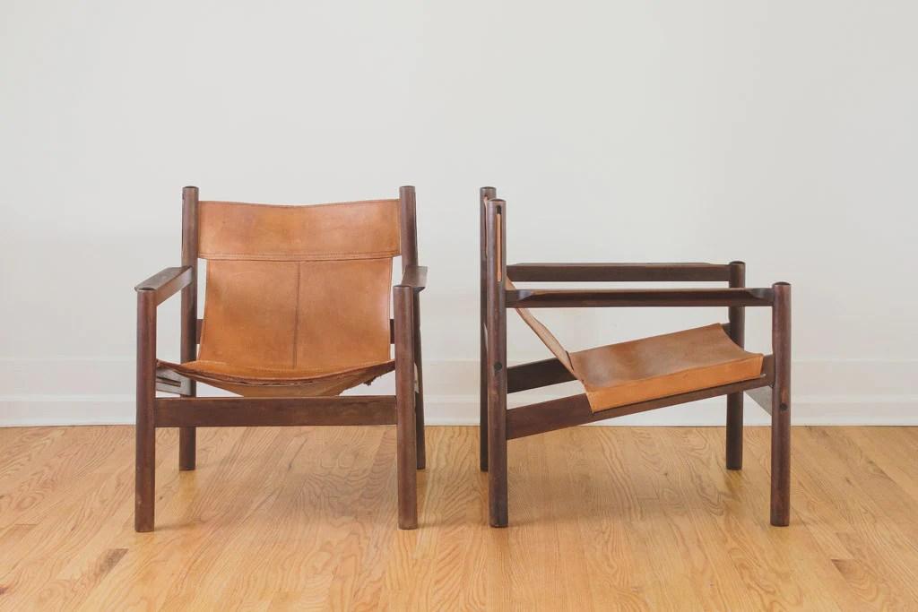 leather sling chairs gliding adirondack mcm roxinho homestead seattle