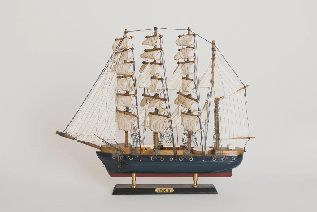 Vintage Pamir Model Ship  Homestead Seattle