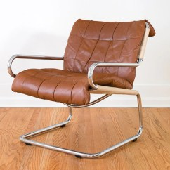 Leather Chrome Chair Hanging Tutorial Mcm Homestead Seattle