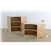 Corner Piece Shelving Unit | Defoe Furniture 4 Kids