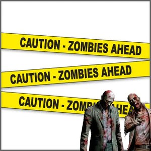 zombie crime scene tape