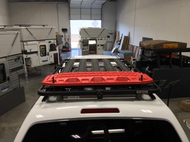 eezi awn truck shell k9 roof rack kit