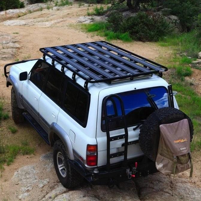 eezi awn toyota land cruiser 80 series k9 roof rack kit