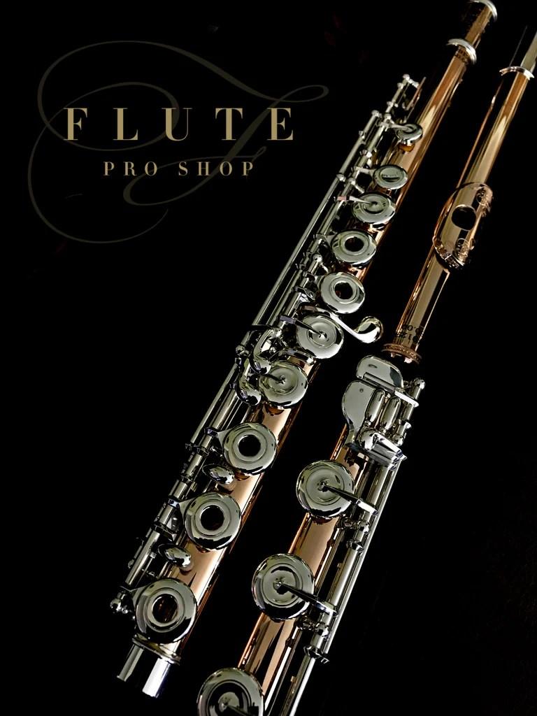 9k Gold Muramatsu Flute No. 91290 - FluteProShop