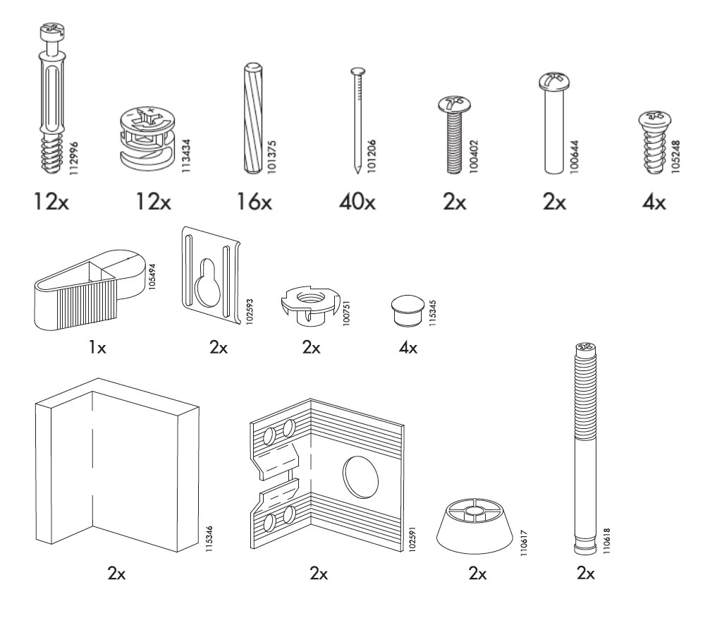 Ikea Dresser Replacement Parts Nazarm
