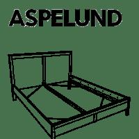 ASPELUND Bedframe Replacement Parts  FurnitureParts.com