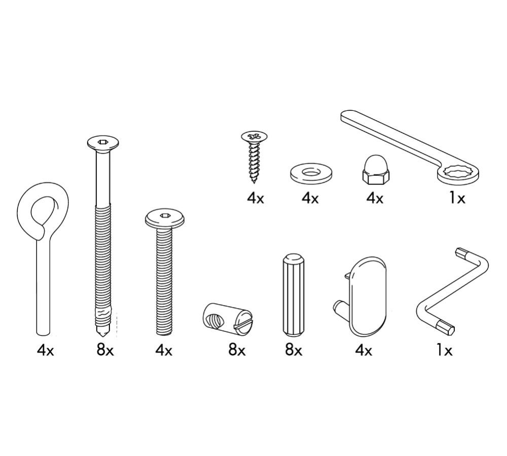 Ikea Sundvik Crib Replacement Parts Furnitureparts
