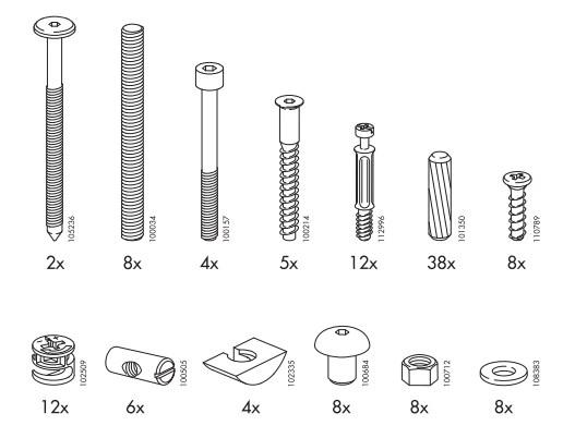 Ikea Mandal Bed Frame Replacement Parts Furnitureparts