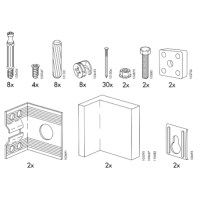IKEA AKURUM Cabinet Replacement Parts  FurnitureParts.com