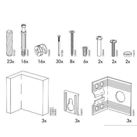 Ikea Akurum Cabinet Replacement Parts Furnitureparts