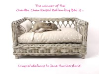 The winner of the Raised Rattan Dog Bed is...  Charley ...