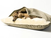 Dog Snuggle Bed in Velour  Charley Chau - Luxury Dog Beds ...