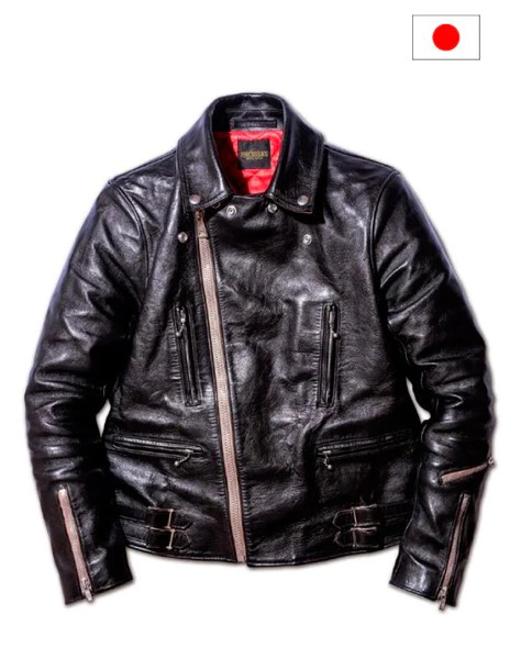 Fine Creek Leathers : creek, leathers, Creek, Leathers, Edward, Japanese, Horse, Leather, Jacket, Vancouver