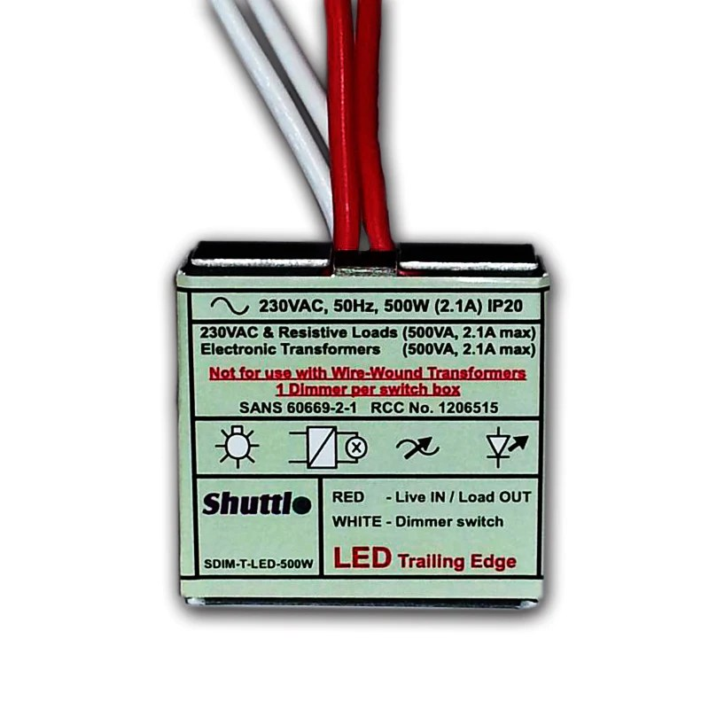Ac Lighted Switch Wiring Shuttle Led Dimmer Module Future Light Led Lights
