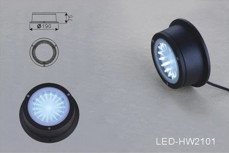 LED Deck Light  Round  Square Surface Mount  Future