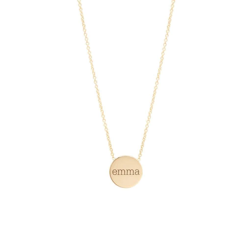 zoë chicco personalized necklaces