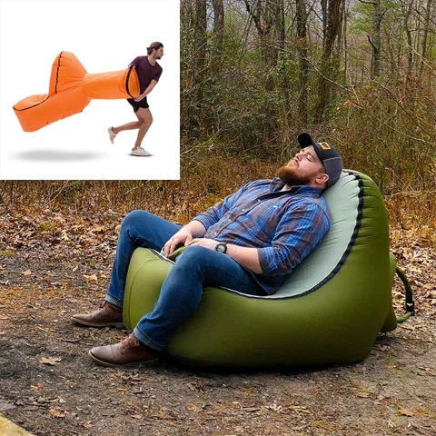 inflatable camping chair covers sofa the 45 coolest festival gadgets 2018 buy cool unique trono