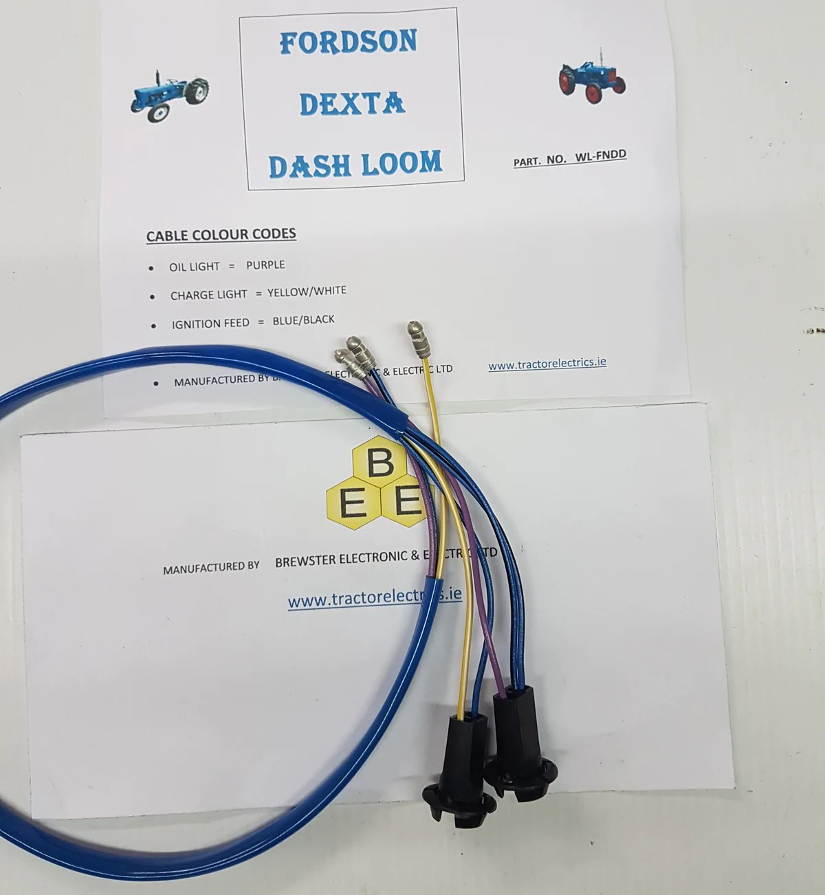 hight resolution of fordson dexta tractor wiring harness loom see wiring diagram vehiclefordson dexta tractor wiring harness loom see