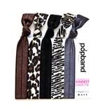 animal popbands cheetah & zebra