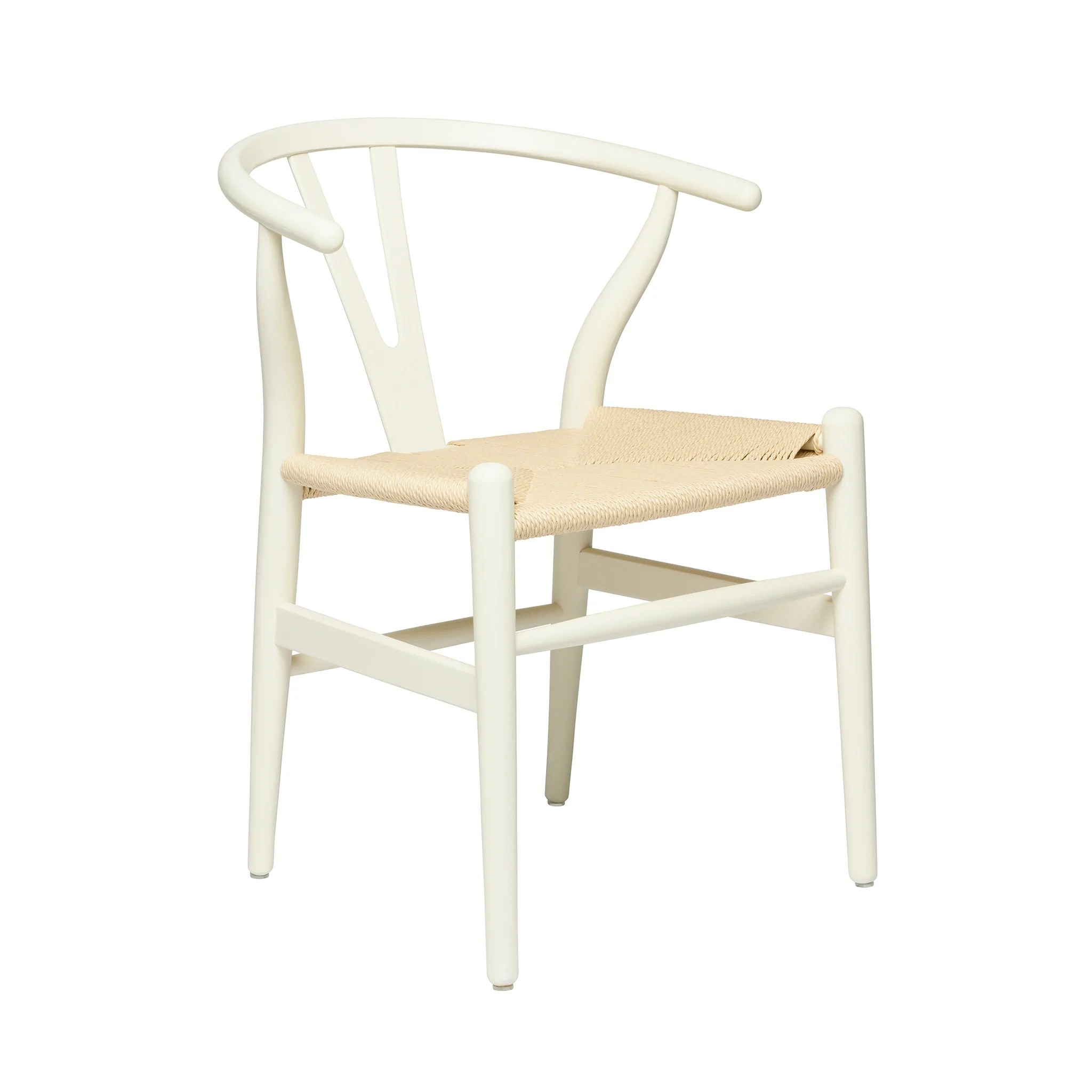 white wishbone chair replica green covers for cheap natural hans wegner