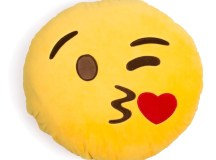 Blowing Kisses Emoji Pillow - Shelfies | All-Over-Print ...