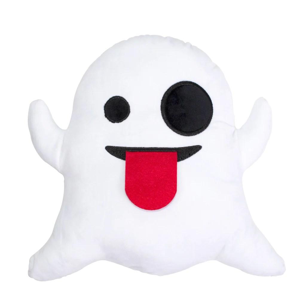 Ghost Emoji Pillow Shelfies