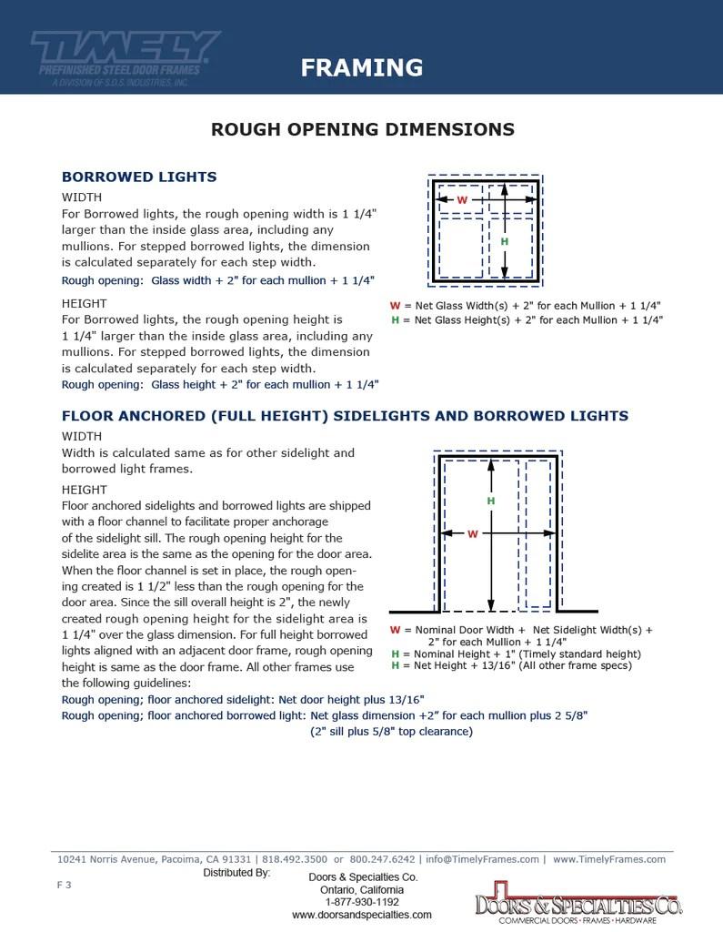 Timely Pocket Door Frame Rough Opening | Framesite.co