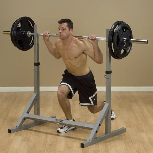 body solid powerline squat rack
