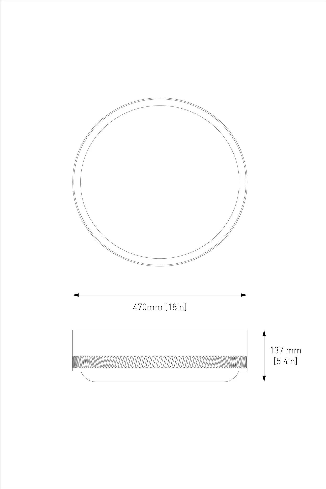 medium resolution of  centro flush mount matte white