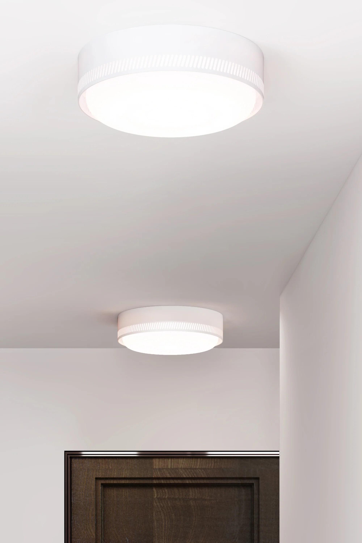 hight resolution of  centro flush mount matte white