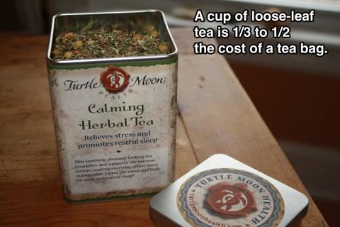 Calming Tea in Tin