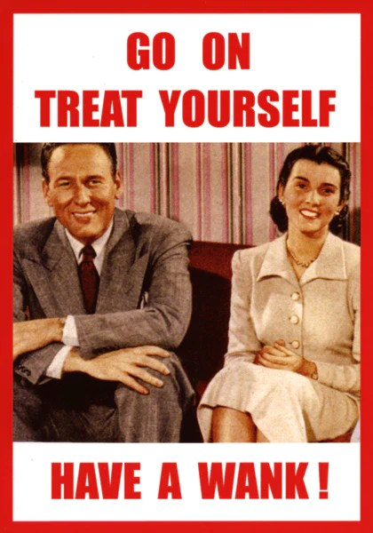 Rude Card By Kiss Me Kwik Funny Treat Yourself